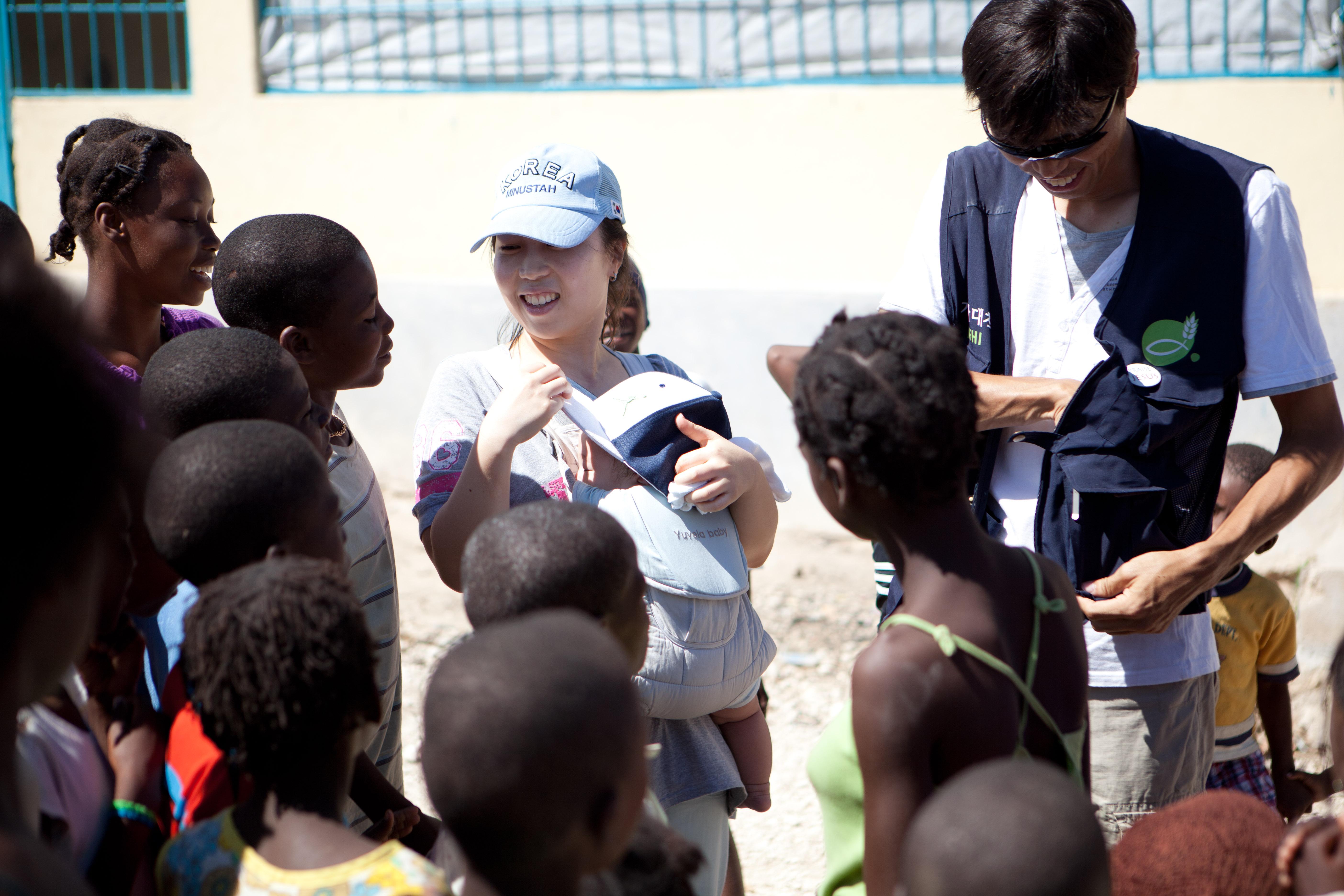 2011 아이티단기선교 어린이사역 (10)