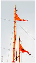 miri and piri (drkingks) Tags: miri flags sikh amritsar goldentemple piri akaltakht