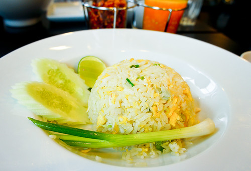 Thai's Fried rice with crabs ข้าวผัดปู