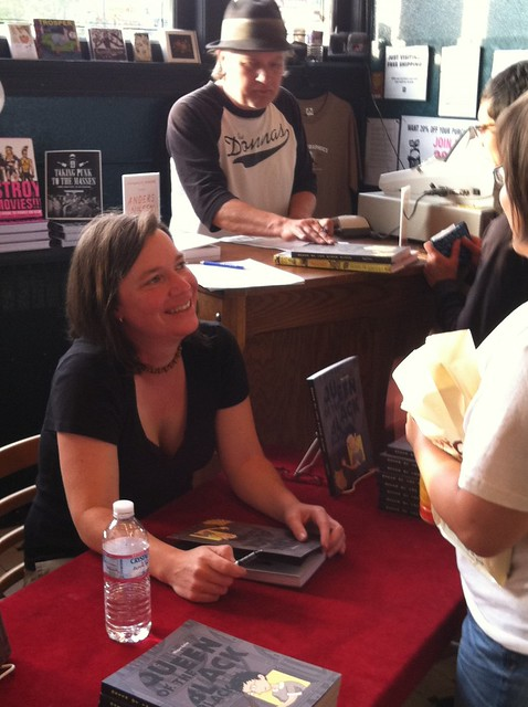Megan Kelso signing at the Fantagraphics Bookstore & Gallery