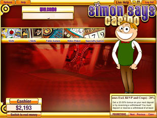 Simon Says Lobby