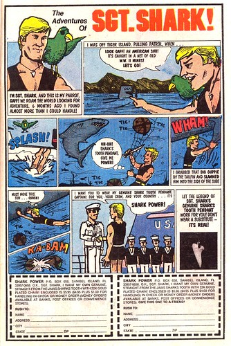 The Adventures of Sgt. Shark 1982 ad