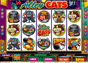 Alley Cats Slot Machine