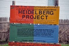 the Heidelberg Project by Tyree Guyton (photo by Michigan Municipal League, creative commons license)