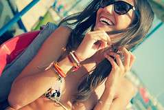 Summer with Paty (Sator Arepo) Tags: life leica summer portrait sun love beach smile sunglasses smil
