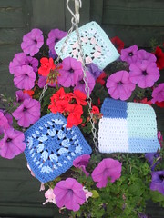 Renee (USA) Your Squares have arrived! Thank You! (MRS TWINS/SIBOL 'Sunshine International Blankets) Tags: squares crocheted challenges sibol