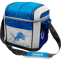 Detroit Lions Coleman 24 Pack/Can Cooler Bag