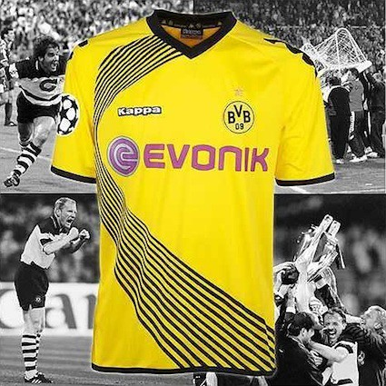 Borussia Dortmund (BVB): Champions League-Trikot 2011 (Kappa)