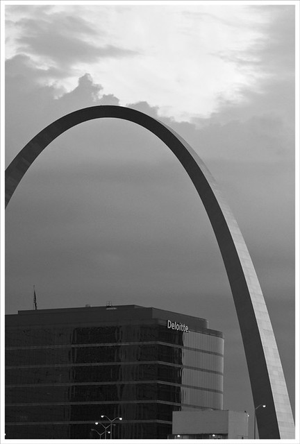 Arch From Busch Stadium 2011-07-29 2