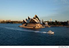 Sydney Opera House (john white photos) Tags: sea harbor boat harbour sydney australia newsouthwales operahouse
