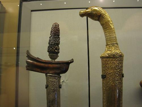 Kris and pedang from Sumatra
