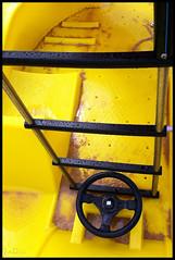 wheel and ladder ... (John FotoHouse) Tags: summer colour portugal yellow europe flickr lagos johndolan iphone dolan 2011 totw leedsflickrgroup johnfotohouse yorkshirephotographer copyrightjdolan