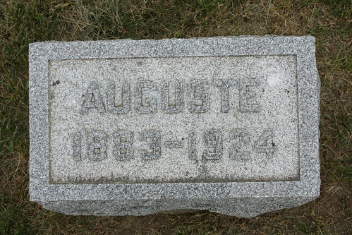 Tombstone of Auguste Kiesel
