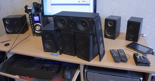 Edifier DA5000 Pro namų kino 5.1 garso sistema