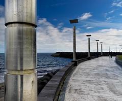 Memories (MB aus D) Tags: blue sea sky beach do steel franco azores somiguel azoren villafrancodocampo