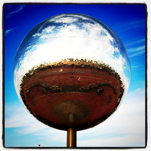 World's Largest Mirrorball, Blackpool