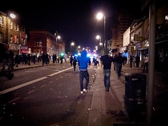 Tottenham Riot by AndrewPagePhotography