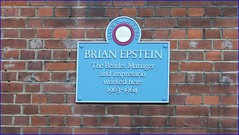 Photo of Brian Samuel Epstein blue plaque