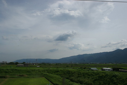 Mountains from shinkanen