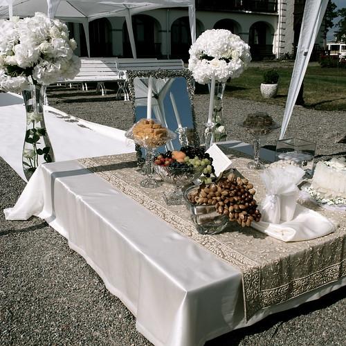 Wedding Altar Cloth: Swedish-Persian Wedding