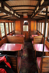 Dining carriage (chung jen) Tags: train carriage railway australia victory   belgrave puffingbilly
