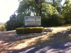 Big Cedar Sign