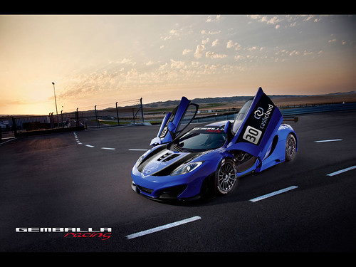 2011 Gemballa Racing McLaren MP4-12C GT3