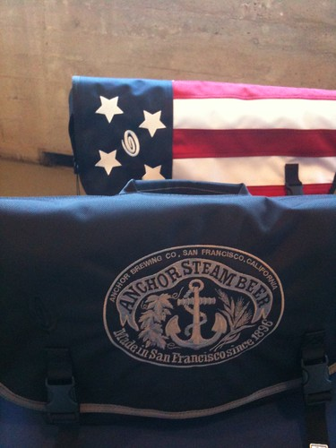 Anchor Steam & America Messenger Bags