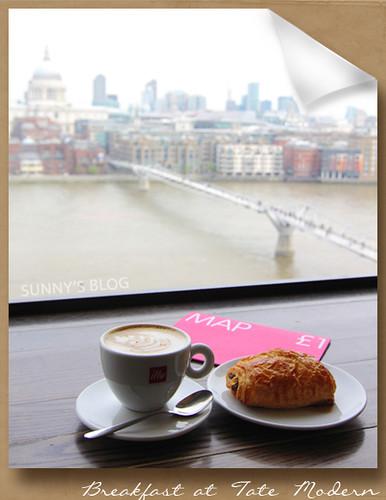 Breakfast at Tate Modern 1