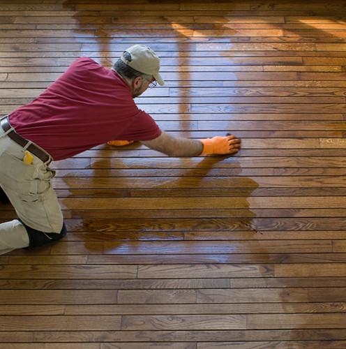 Koydol Wood Strip and Plank Flooring: Handscraped Collection