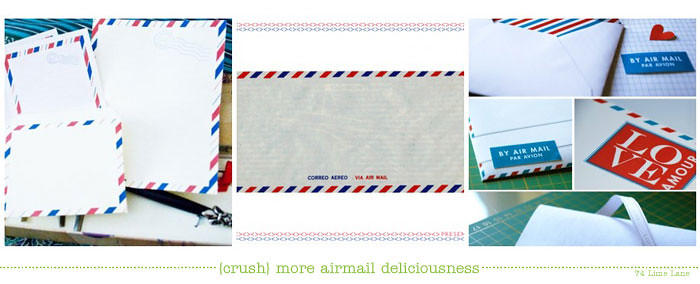 {crush} more airmail deliciousness