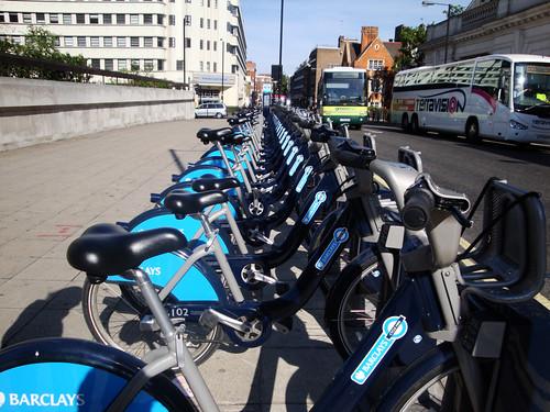 Bici eléctricas de alquiler en Londres