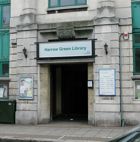 Harrow Green Library - facing the axe!