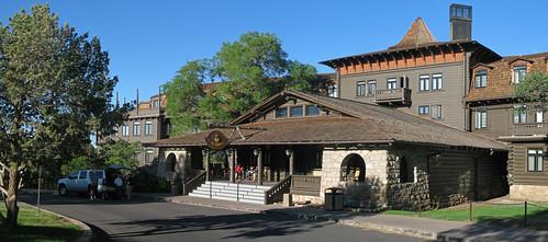 hotel lodging grandcanyon lodge fredharvey eltovar