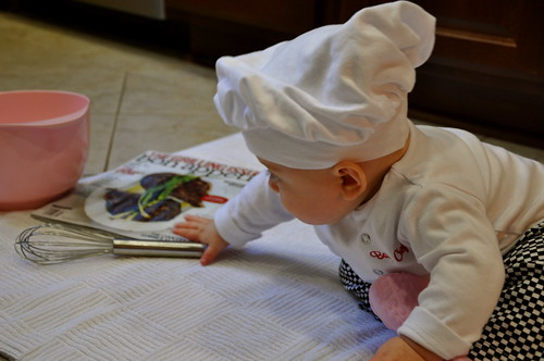 baby chef @ six months