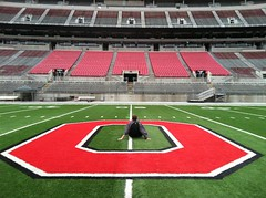 Untitled (The Ohio State University) Tags: ohiostadium blocko 50yardline theohiostateuniversityosuohioimageofthedaycampuscolumbussummer