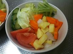 朝食サラダ(2011/7/1)