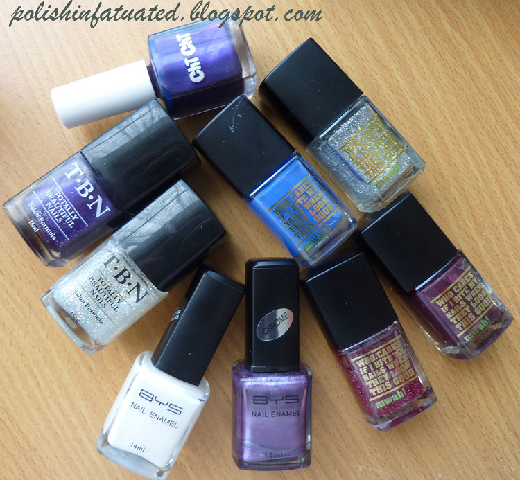 stash - random aussie polishes
