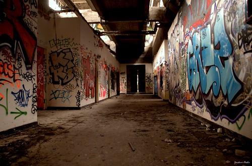 Couloir de la CCIP - Dans le bâtiment