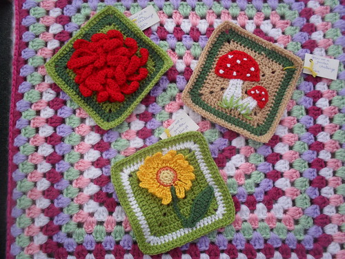 Three Squares for our 'Grow me a Garden' Challeenge.