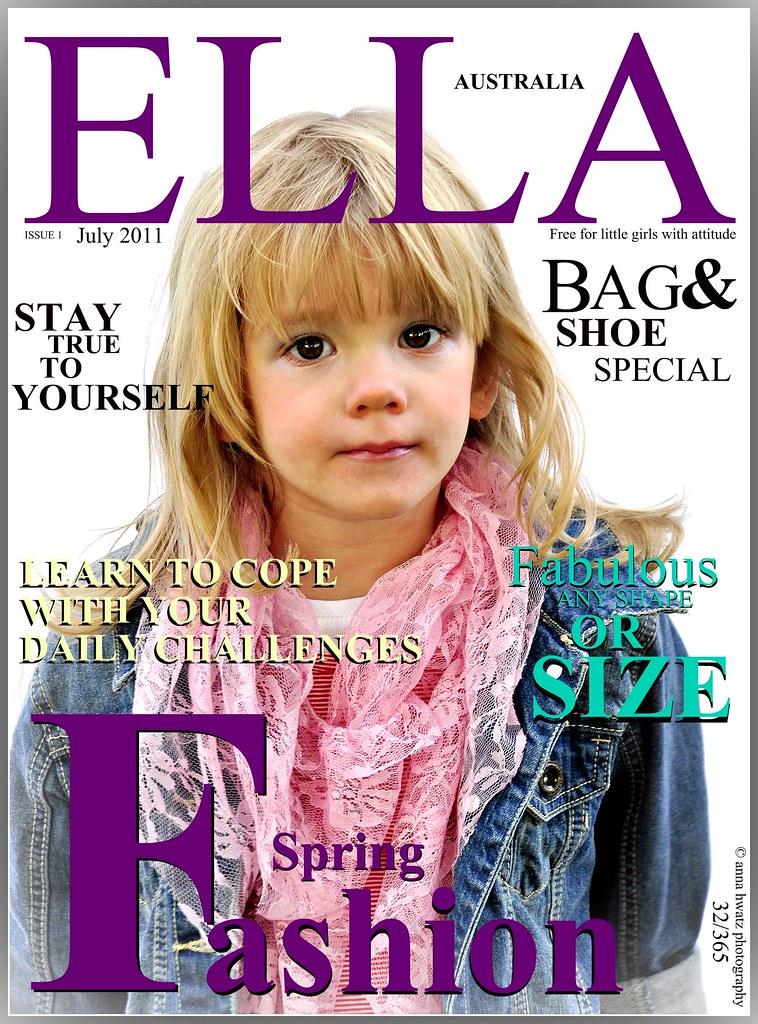 Magazine Cover.....32/365