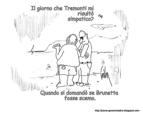 Il giorno che Tremonti mi risultò simpatico. by Livio Bonino