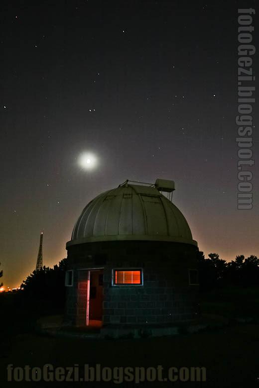 Ankara Üniversitesi Astronomi ve Uzay Bilimleri Bölümü Ahlatlıbel Gözlemevi