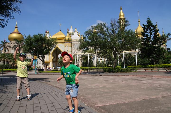 六福村主題遊樂園(阿拉伯皇宮區)005
