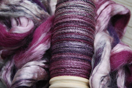 Tour de Fleece Spinning