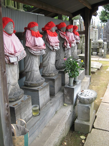 Row of Six Jizo Bosatsu