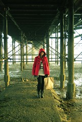 ... (Sarah-Louise Burns) Tags: portrait england girl fashion vintage pier seaside colours britain under retro southend nylon 1960 southendonsea vintagefeel worldslongestpier oldfeeling slbphotography sarahlouiseburnsphotography sarahlouiseburns