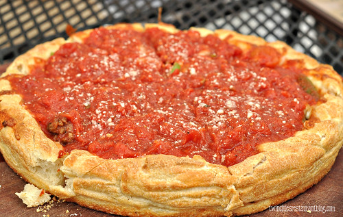 Deep Dish Hemi Couda Pizza at psycho Suzi's ~ Minneapolis, MN
