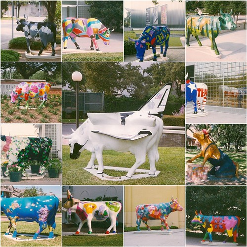 Houston Cow Parade Mosaic