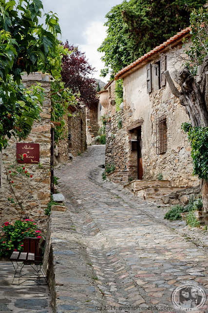 The Village Of Castelnou